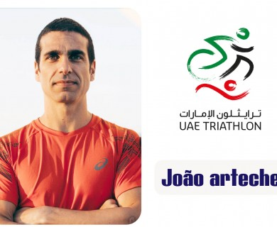 UAE Triathlon Association signs an agreement with coach Joao Artic