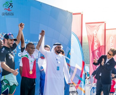 UAE wins the first gold in the World Games of the Special Olympics..