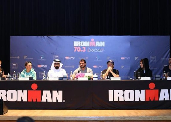 Press Conference of the Organizing Committee of the Iron Man Championship (Iron Man)