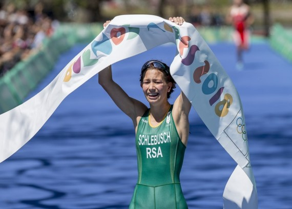 South African Amber Schlebu'sch is the 2018 Buenos Aires Youth Olympics champion