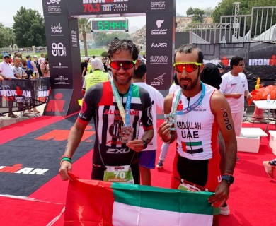 Triathlon  Iron Man Oman 70.3,
