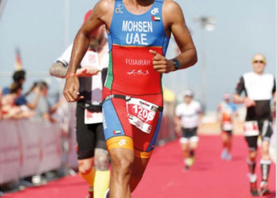 Mohsen Al Ali leaves for Nice to take part in Iron Man Championship