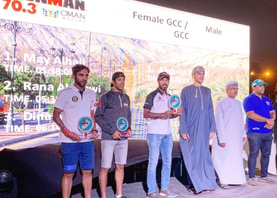 IRONMAN 70.3 Oman 2019 held in the capital city of Muscat