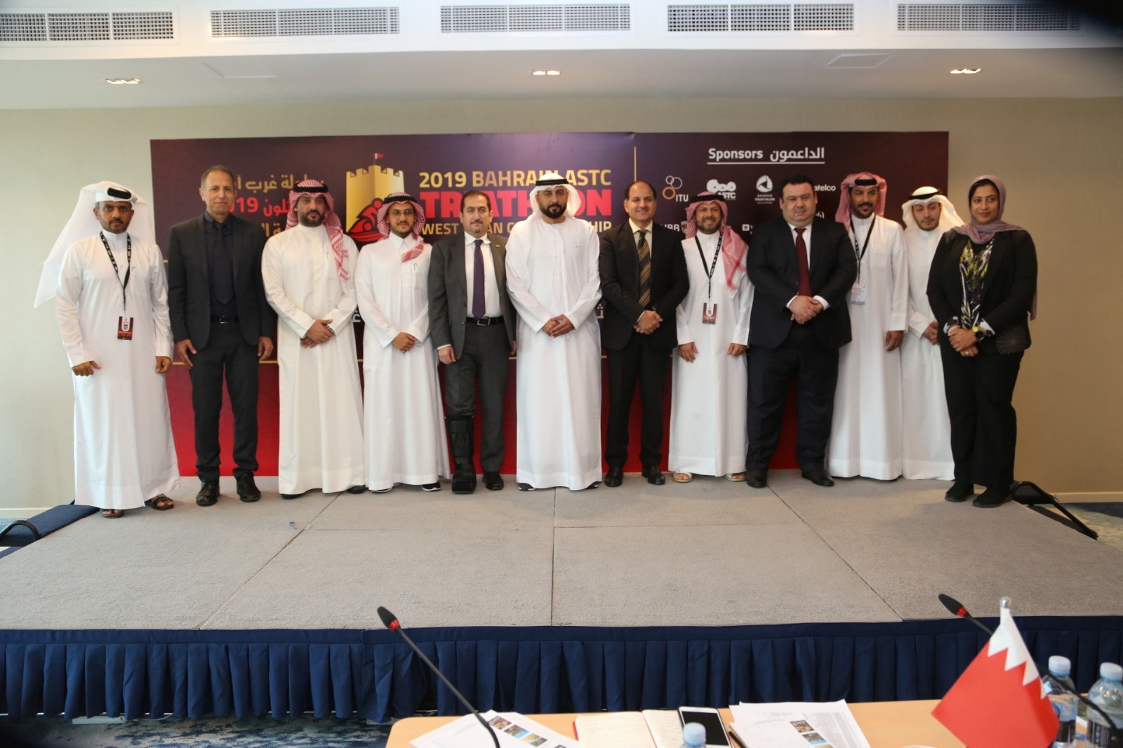 Khaled Al Fahim Is Acting President Of West Asia For The Triathlon.