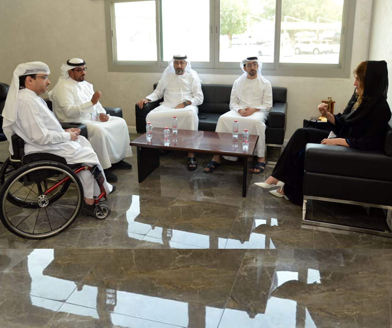 A plan to organize the Para Triathlon in Dubai