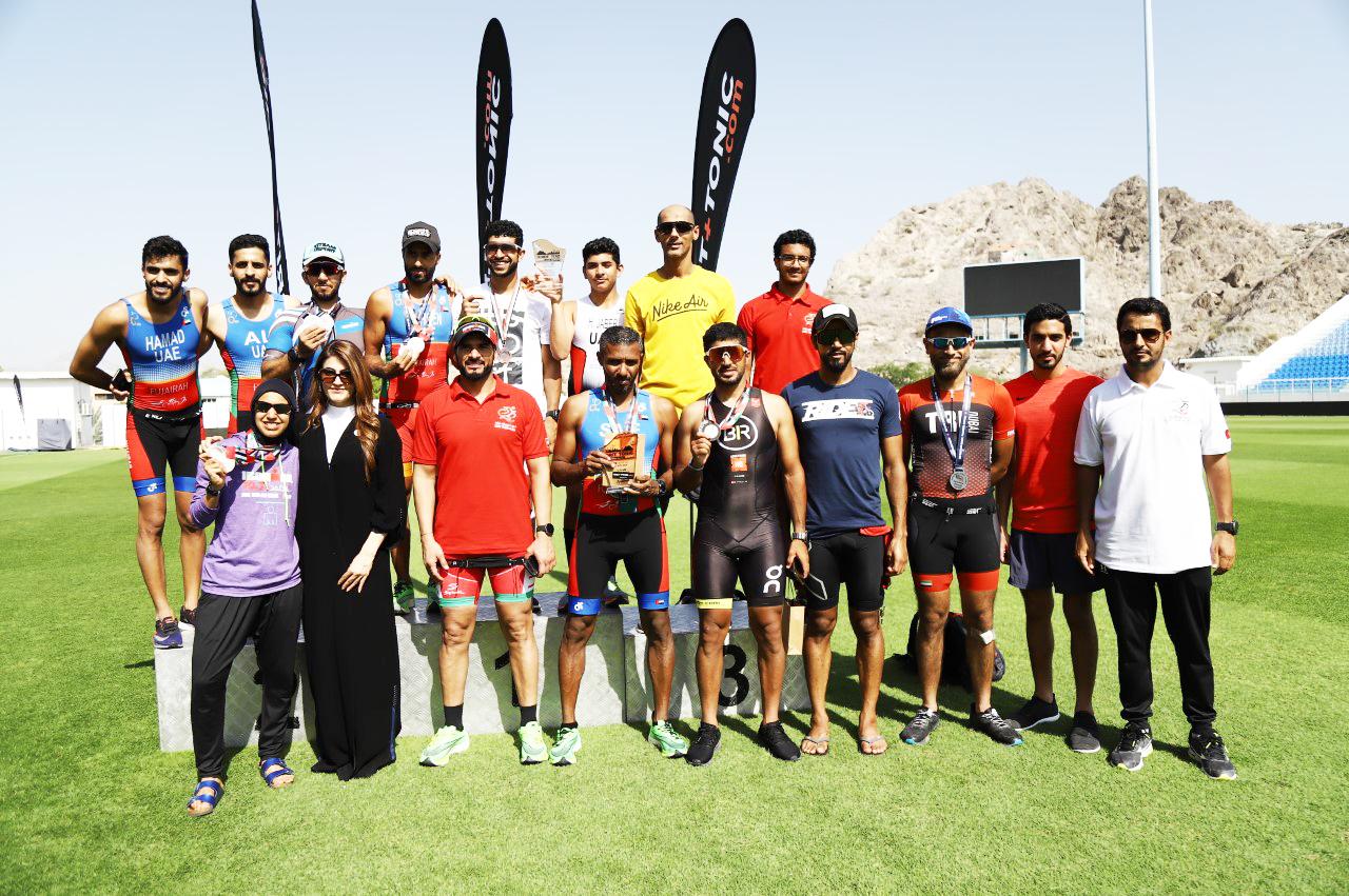 UAE Emarati Team dominates Hatta Triathlon