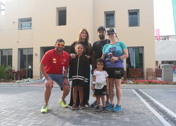 The UAE Family Duathlon attracts sports families